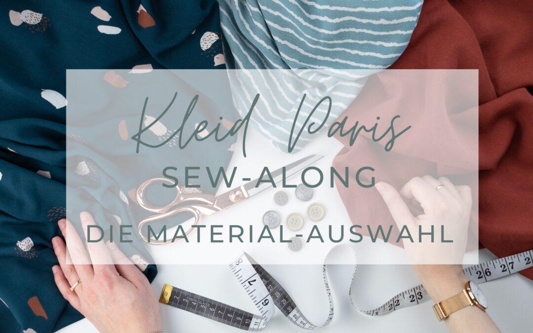 Sew-Along Kleid Paris – Die Material-Auswahl