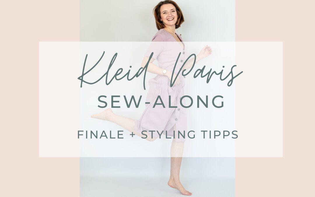Sew-Along Kleid Paris – Finale + Styling Tipps