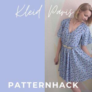 Patternhack Kleid Paris mit Tellerrock